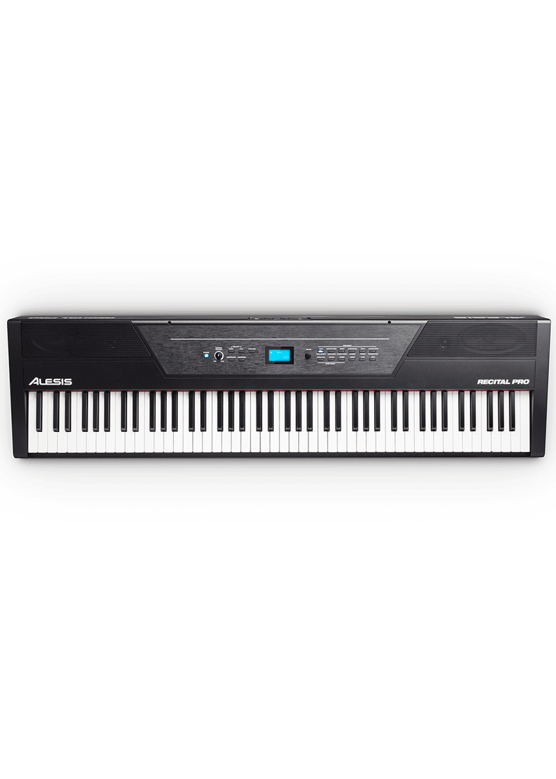 ALESIS Recital Pro Digital Piano 88 Teclas 1 https://musicheadstore.com/wp-content/uploads/2021/03/ALESIS-Recital-Pro-Digital-Piano-88-Teclas-1.png
