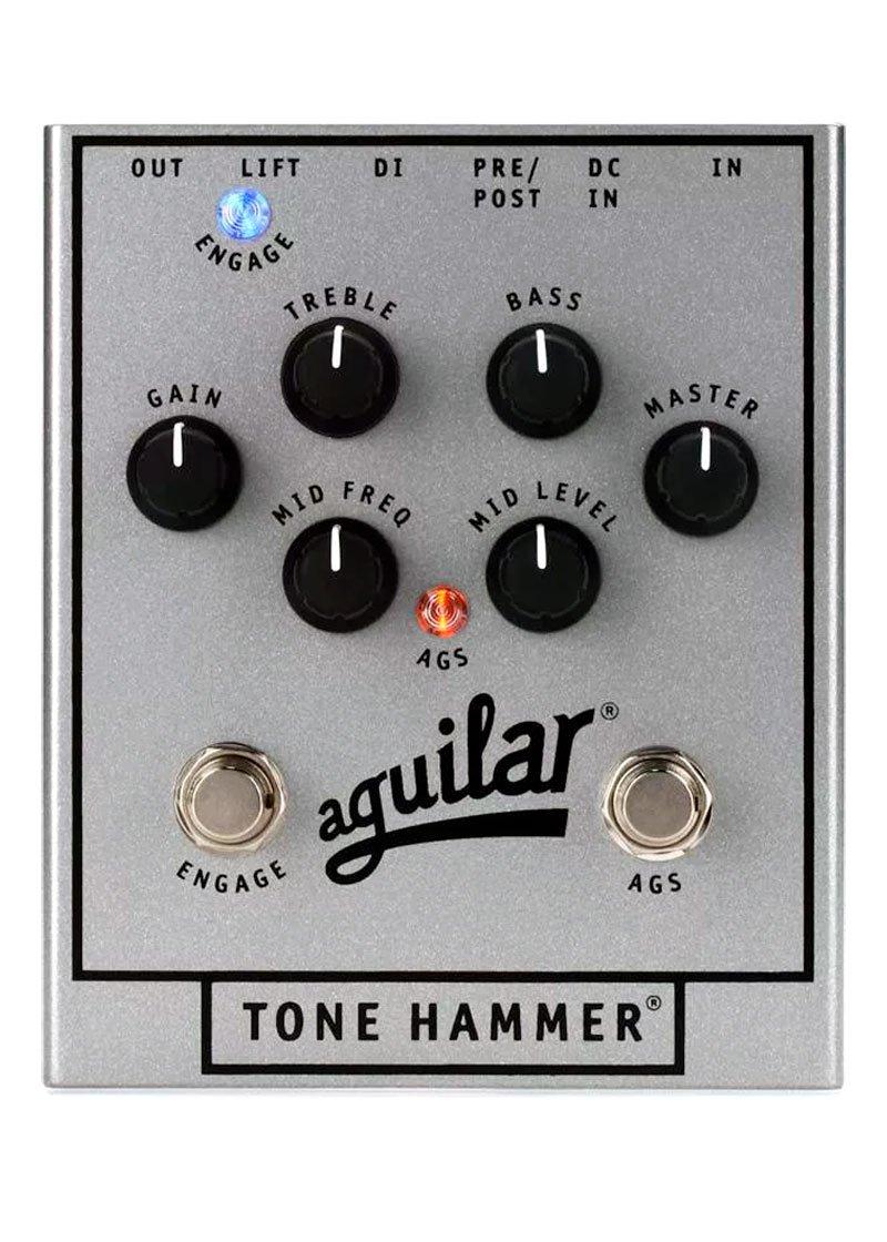 Aguilar 25th Anniversary Tone Hammer PreampD.I. Silver 1 https://musicheadstore.com/wp-content/uploads/2021/03/Aguilar-25th-Anniversary-Tone-Hammer-PreampD.I.-Silver-1.jpg