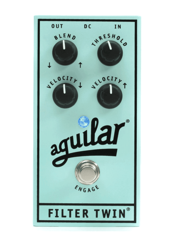 Aguilar Filter Twin Dual Envelope Filter Effects Bass Pedal 2