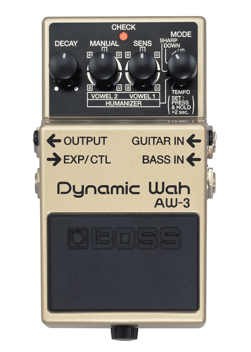 Boss AW 3 Dynamic Wah Guitar Effects Pedal 1