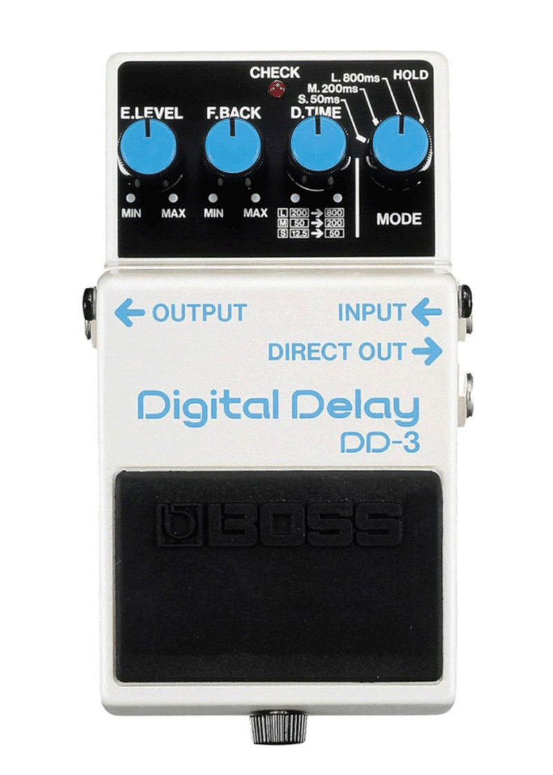 Boss DD 3 Pedal Compacto Digital Delay 1
