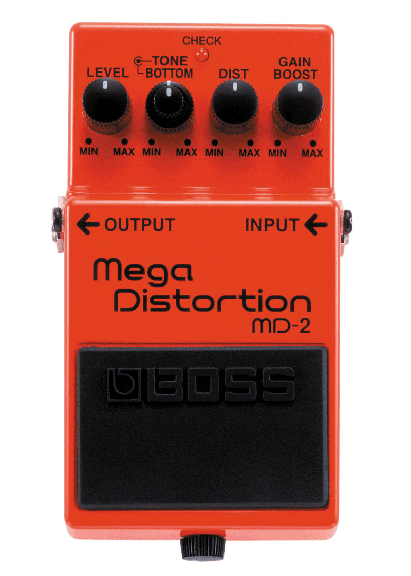 Boss MD 2 Pedal Compacto Mega Distortion 1