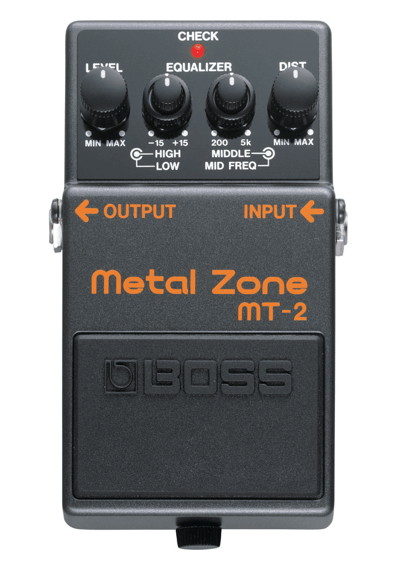 Boss MT 2 Pedal Compacto Metal Zone 1