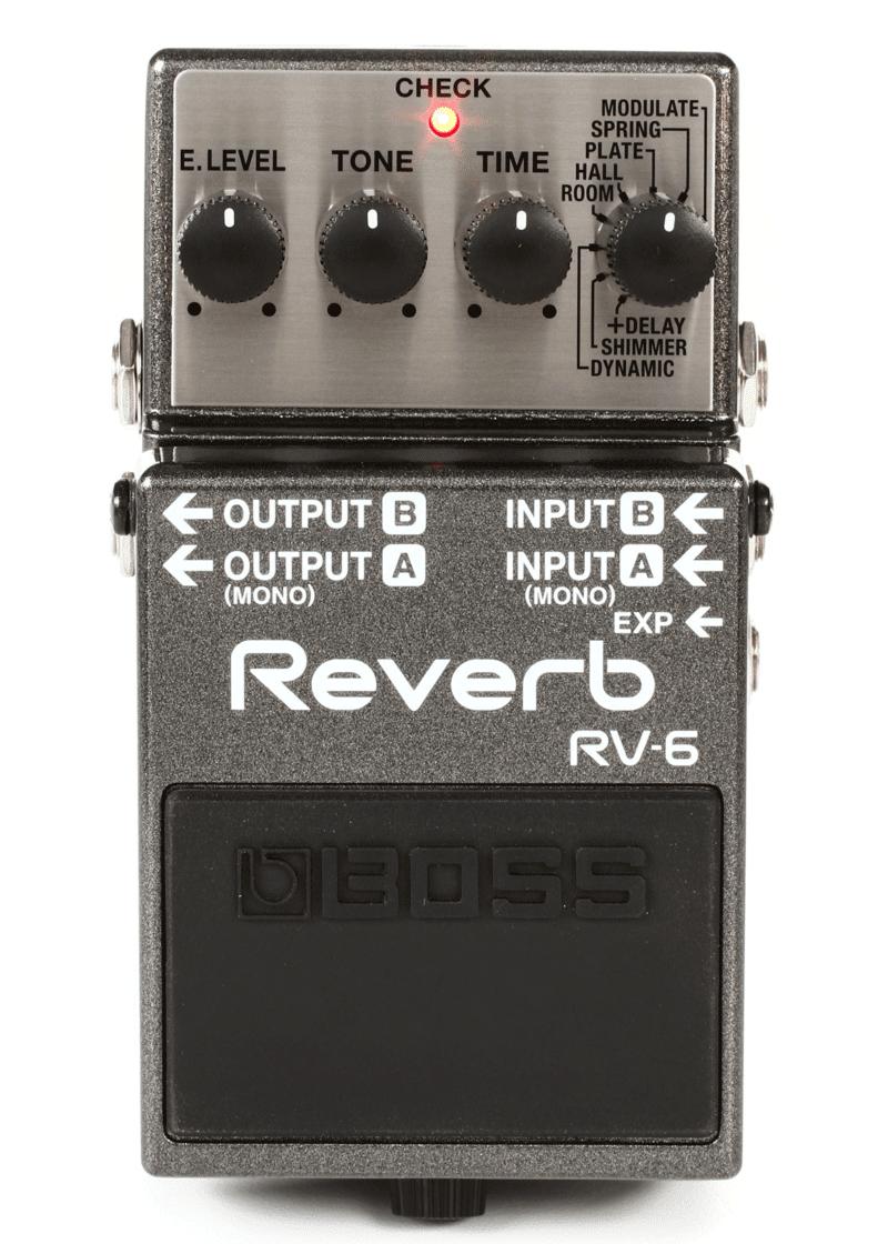 Boss RV 6 Pedal Reverb 1
