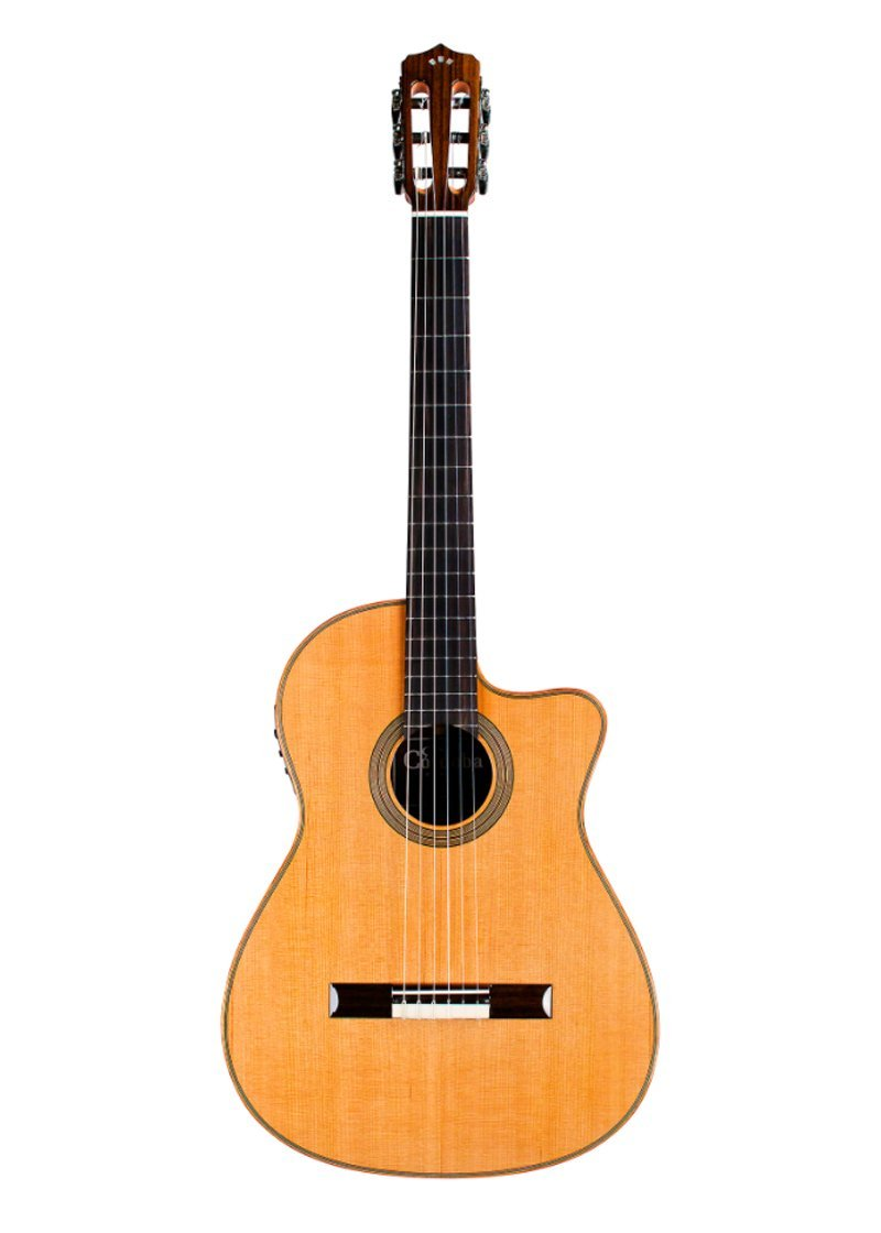 Cordoba Fusion Orchestra CE Crossover Classical Acoustic Electric Guitar Natural 1