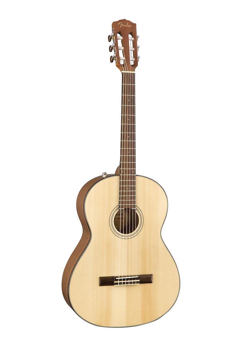 Fender CN 60S Nylon Acoustic Guitar Nat 1