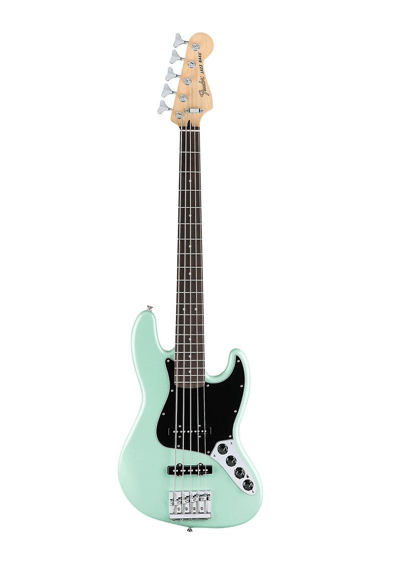 Fender Deluxe Active Jazz Bass V Pau Ferro Fingerboard 1