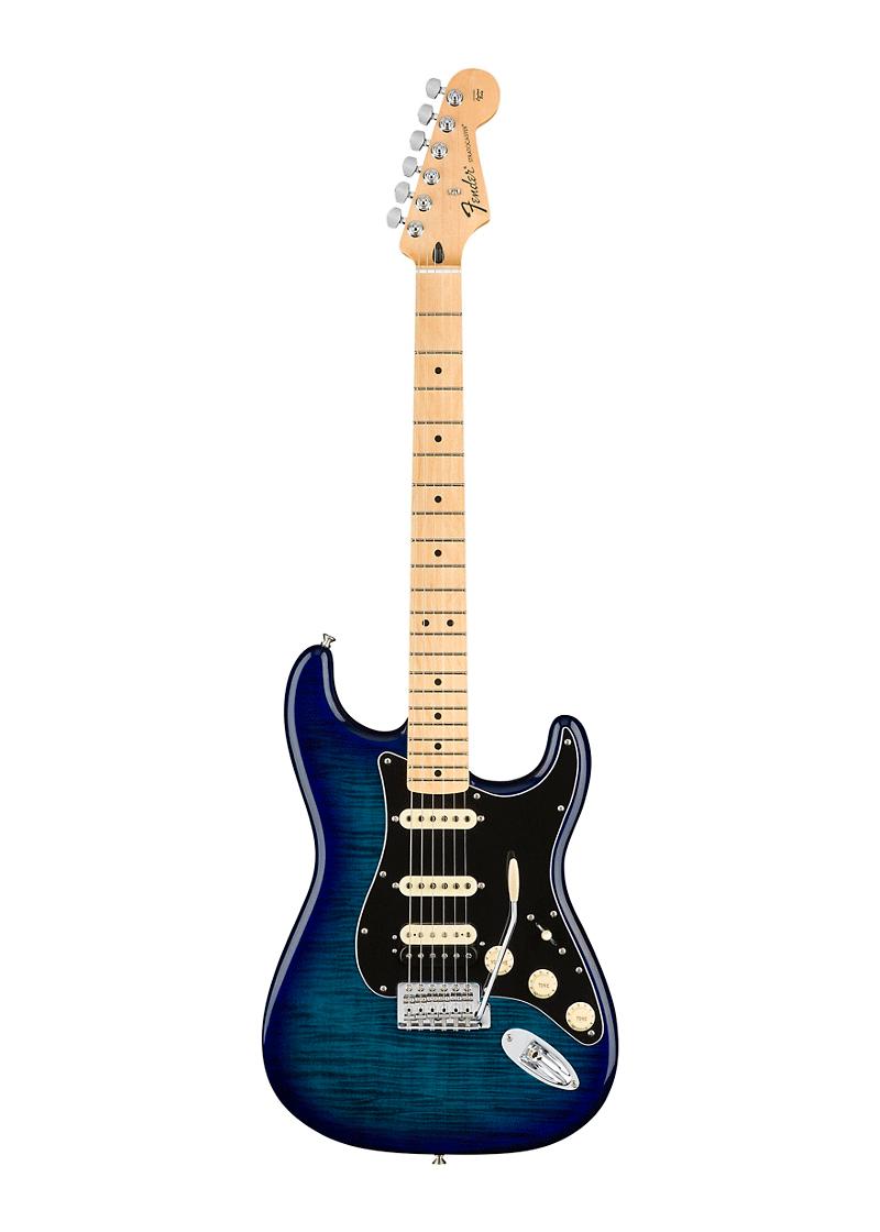 Fender Limited Edition HSS Plus Blue Burst 1