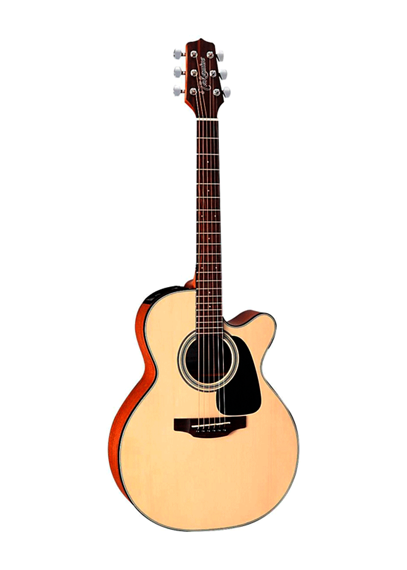 GX18CENS 34 Size Travel Acoustic Electric Guitar Natural 1