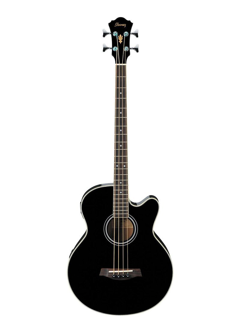 Ibanez AEB5E Acoustic Electric Bass Black 1