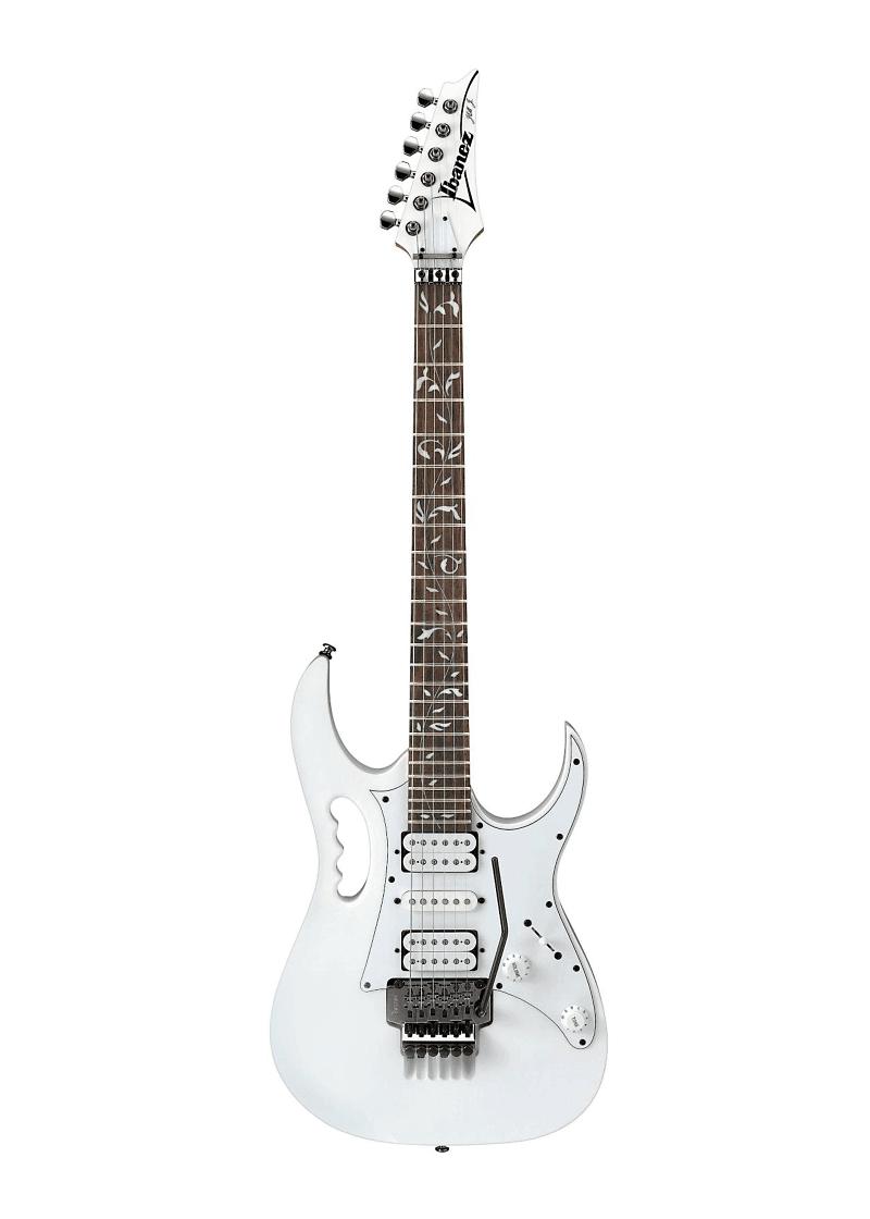 Ibanez JEM JR Steve Vai Signature Electric Guitar White 1 https://musicheadstore.com/wp-content/uploads/2021/03/Ibanez-JEM-JR-Steve-Vai-Signature-Electric-Guitar-White-1.png