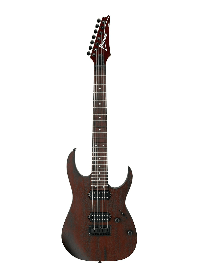 Ibanez RG Series RG7421 Fixed Bridge 7 String Electric Guitar Flat Walnut 1 https://musicheadstore.com/wp-content/uploads/2021/03/Ibanez-RG-Series-RG7421-Fixed-Bridge-7-String-Electric-Guitar-Flat-Walnut-1.png