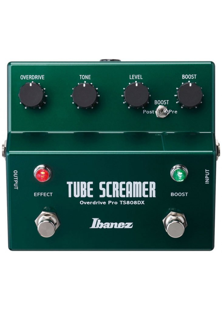 Ibanez Tube Screamer efectos de guitarra pedal TS808DX 2