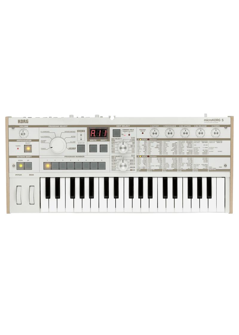 Korg microKORG S Synthesizer 1