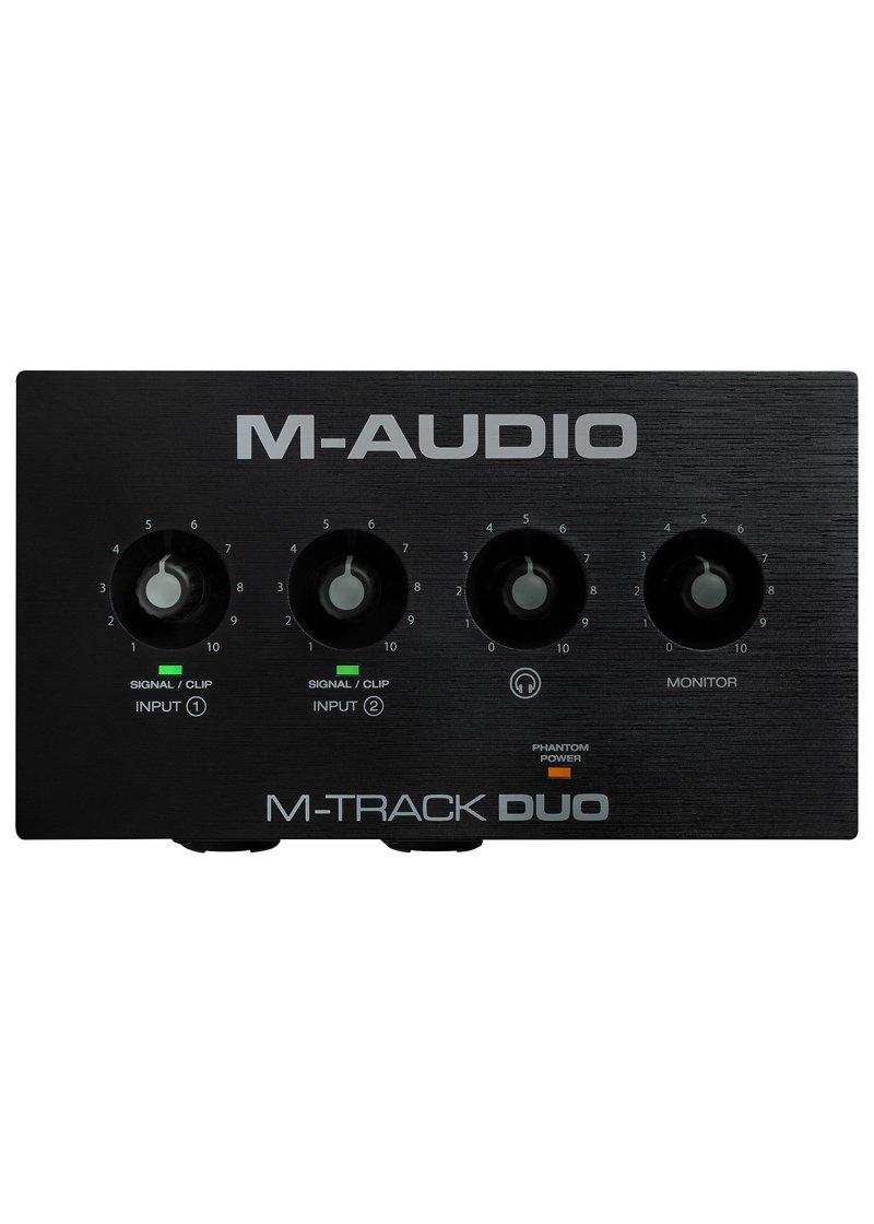 M AUDIO M Track Duo Interface de Audio 1 https://musicheadstore.com/wp-content/uploads/2021/03/M-AUDIO-M-Track-Duo-Interface-de-Audio-1.jpg