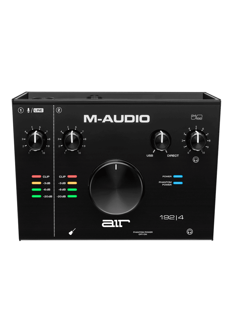M Audio AIR 192 4 USB C Audio Interface 1 https://musicheadstore.com/wp-content/uploads/2021/03/M-Audio-AIR-192-4-USB-C-Audio-Interface-1.png