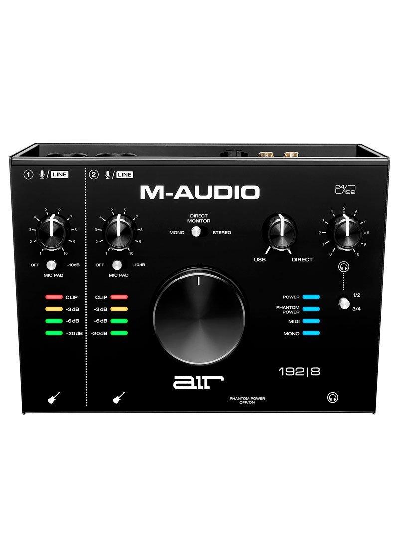 M Audio AIR 192 8 USB C Audio Interface 1 https://musicheadstore.com/wp-content/uploads/2021/03/M-Audio-AIR-192-8-USB-C-Audio-Interface-1.jpg