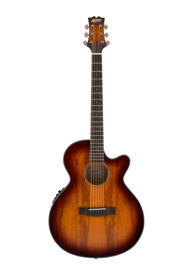 Mitchell MX430 Spalted Maple Acoustic Electric Guitar Whiskey Burst 1 https://musicheadstore.com/wp-content/uploads/2021/03/Mitchell-MX430-Spalted-Maple-Acoustic-Electric-Guitar-Whiskey-Burst-1.jpg