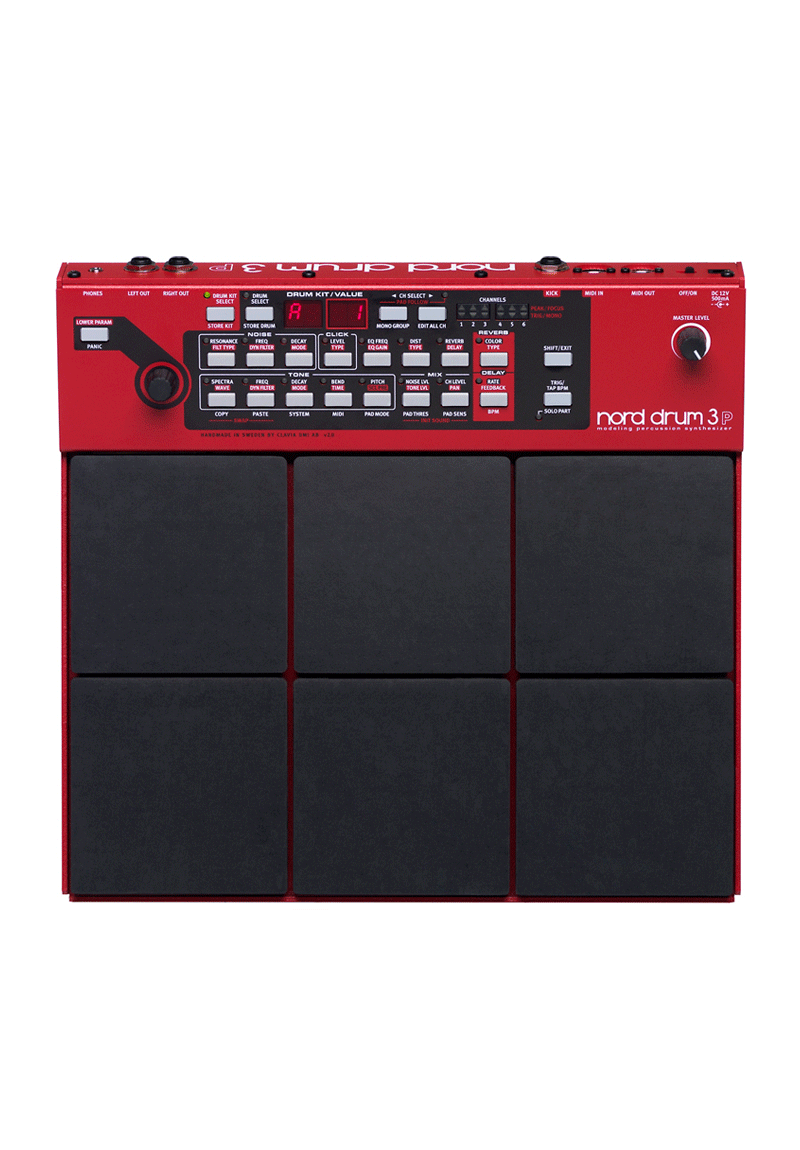 NORD Drum 3P Modeling Percussion Synthesizer 1 https://musicheadstore.com/wp-content/uploads/2021/03/NORD-Drum-3P-Modeling-Percussion-Synthesizer-1.png