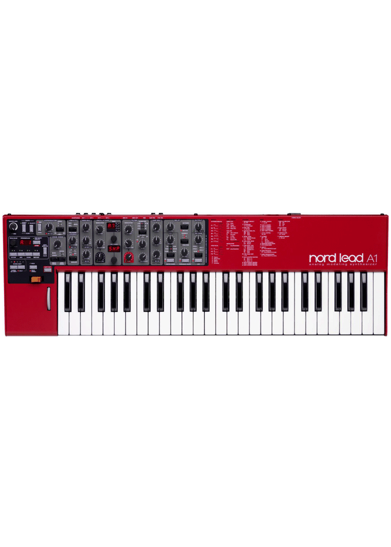 Nord Lead A1 Analog Modeling Synthesizer 1 https://musicheadstore.com/wp-content/uploads/2021/03/Nord-Lead-A1-Analog-Modeling-Synthesizer-1.png