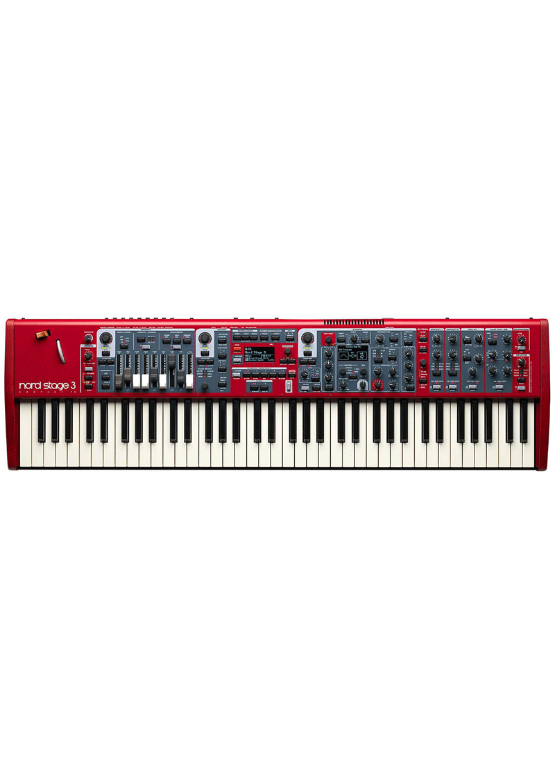 Nord Stage 3 Compact Red 1