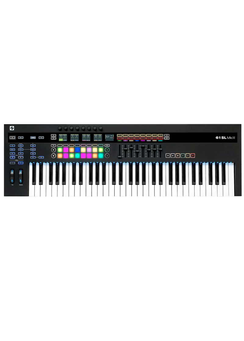Novation 61SL MKIII Midi Keyboard Controller 1