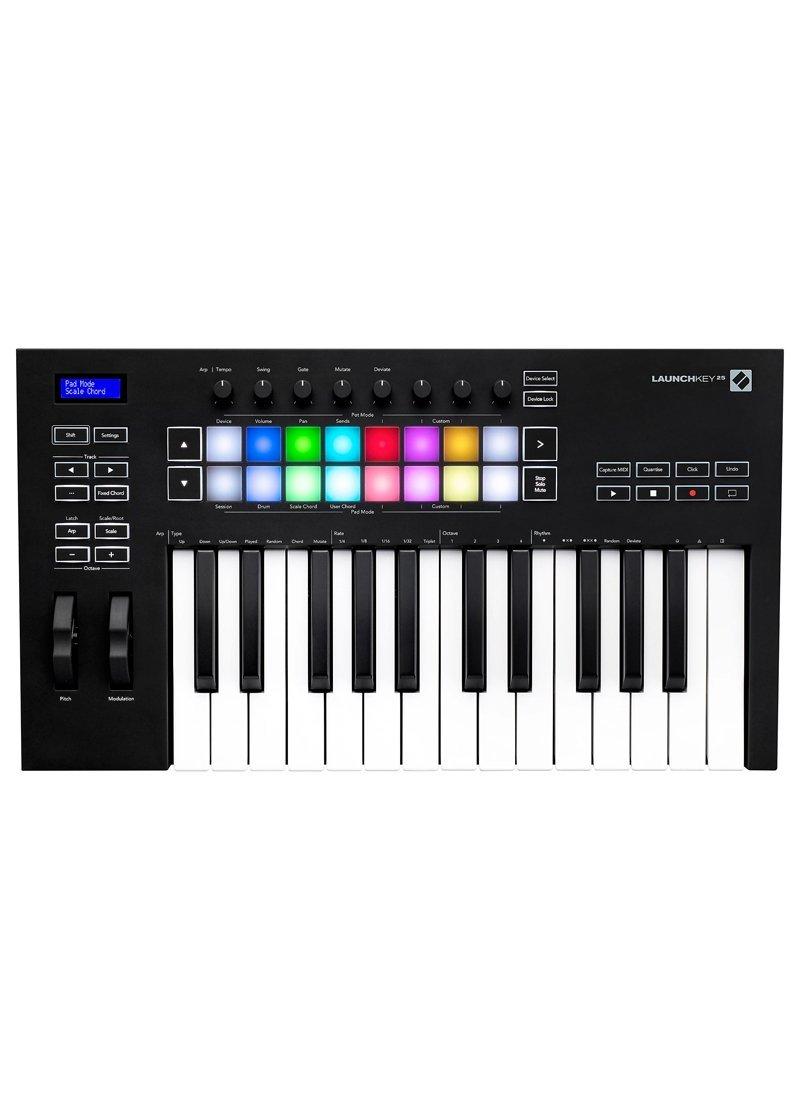 Novation Launchkey 25 MKIII Midi Keyboard Controller 1