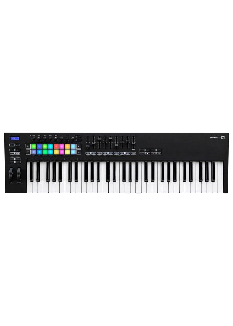 Novation Launchkey 61 MKIII Midi Keyboard Controller 1 https://musicheadstore.com/wp-content/uploads/2021/03/Novation-Launchkey-61-MKIII-Midi-Keyboard-Controller-1.jpg