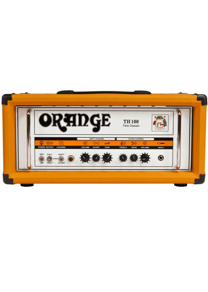 Orange Amplifiers TH100 1 https://musicheadstore.com/wp-content/uploads/2021/03/Orange-Amplifiers-TH100-1.png