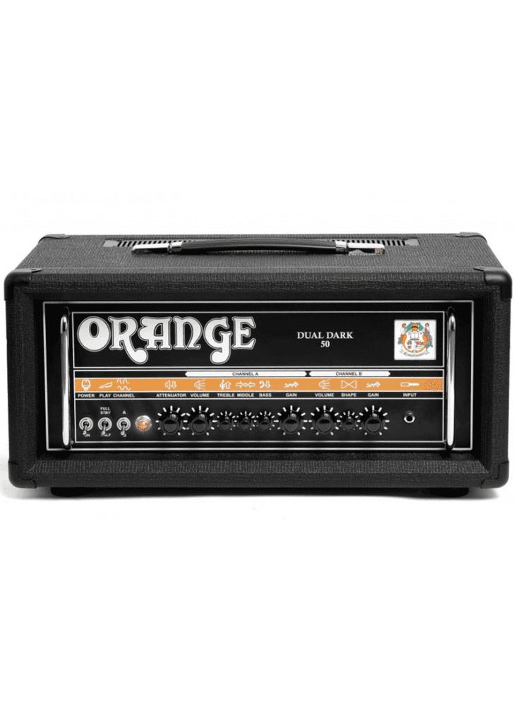 Orange Dual Dark 50 BLK Amp Guitar 1 https://musicheadstore.com/wp-content/uploads/2021/03/Orange-Dual-Dark-50-BLK-Amp-Guitar-1.png