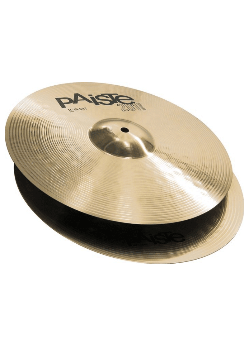 Paiste Cymbals Serie 201 Hi Hat 14 https://musicheadstore.com/wp-content/uploads/2021/03/Paiste-Cymbals-Serie-201-Hi-Hat-14.png
