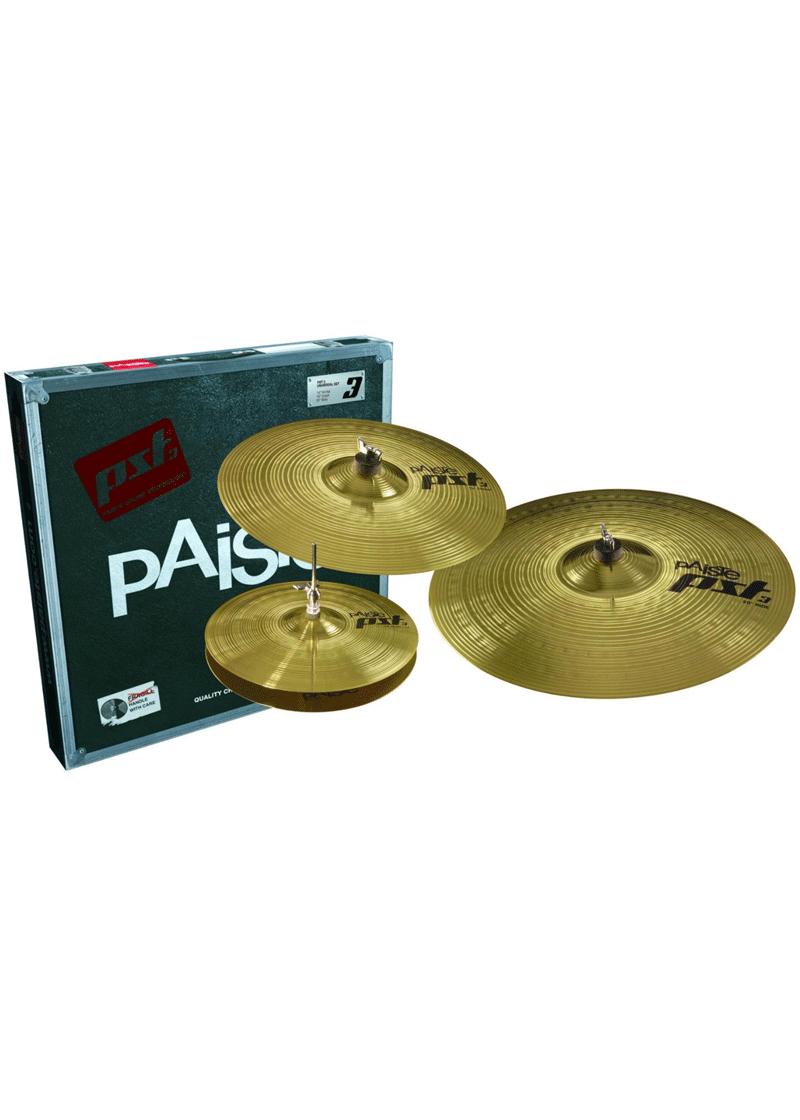 Paiste Serie PST3 Universal Set 1 https://musicheadstore.com/wp-content/uploads/2021/03/Paiste-Serie-PST3-Universal-Set-1.png