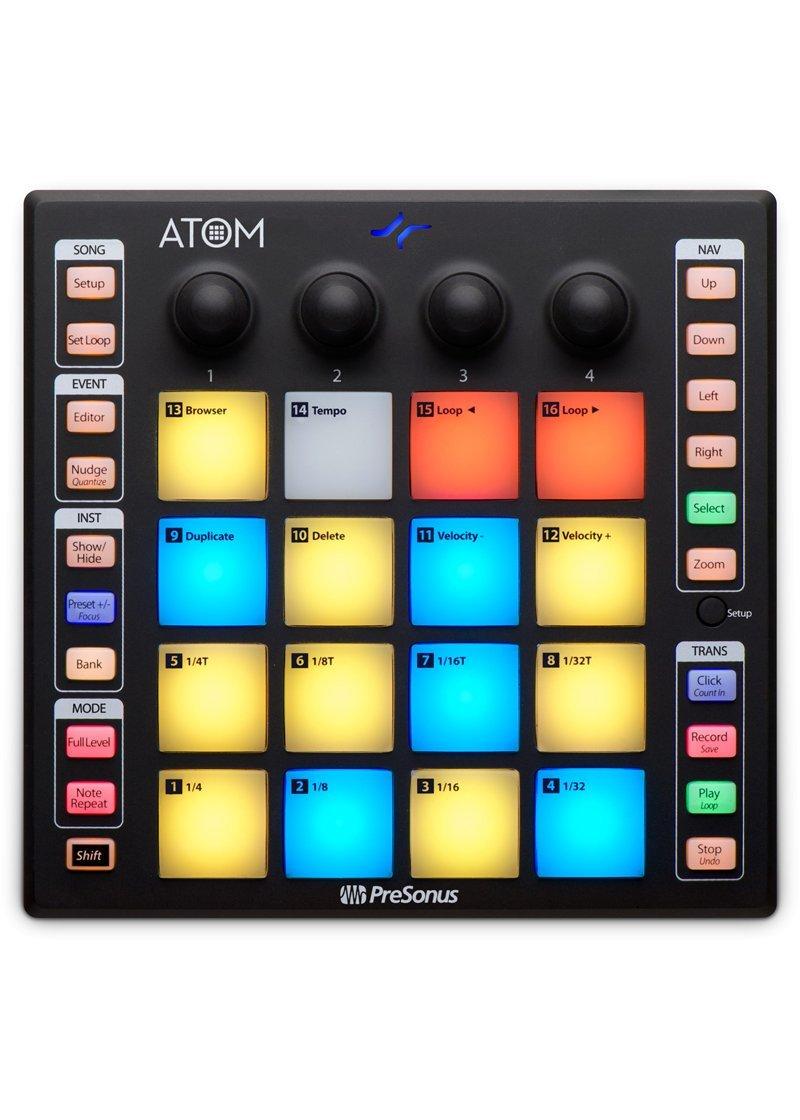 Presonus ATOM Controlador de Pads 1 https://musicheadstore.com/wp-content/uploads/2021/03/Presonus-ATOM-Controlador-de-Pads-1.jpg