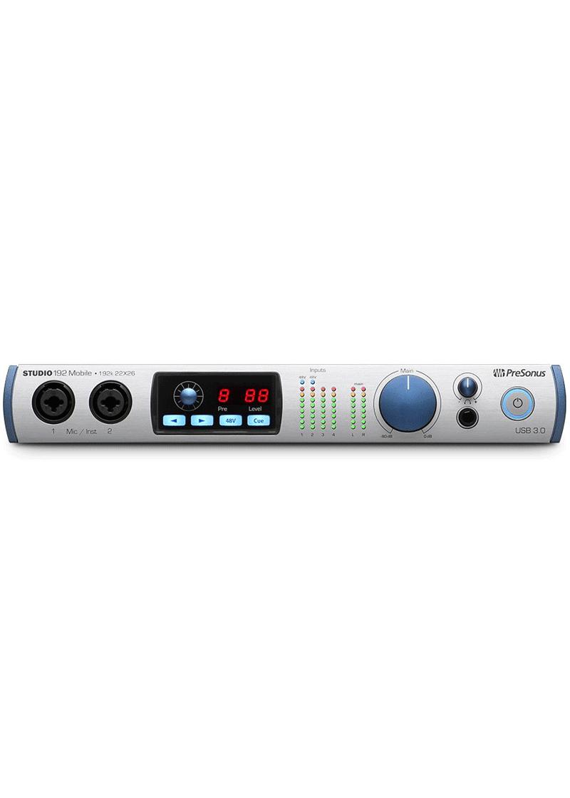 Presonus Interface Studio 192 Mobile 1 https://musicheadstore.com/wp-content/uploads/2021/03/Presonus-Interface-Studio-192-Mobile-1.png