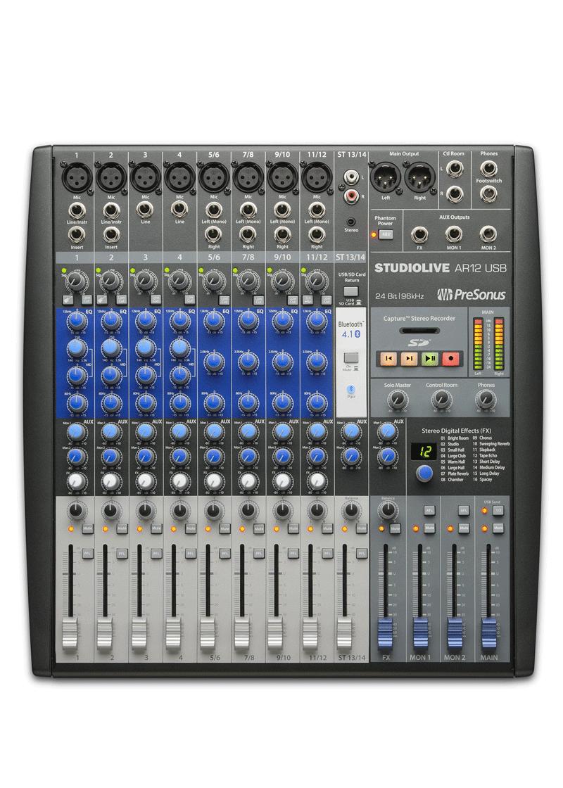 Presonus Mezcladora Studiolive AR12 USB 1 https://musicheadstore.com/wp-content/uploads/2021/03/Presonus-Mezcladora-Studiolive-AR12-USB-1.png