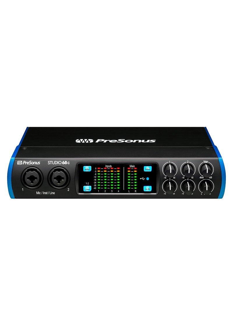 Presonus Studio 68c USB C 6x6 AudioMIDI Interface 1 https://musicheadstore.com/wp-content/uploads/2021/03/Presonus-Studio-68c-USB-C-6x6-AudioMIDI-Interface-1.jpg