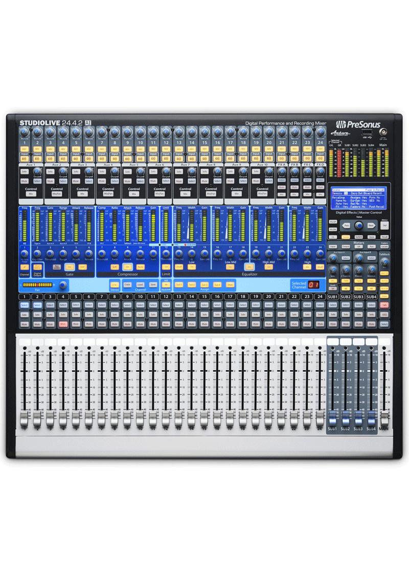 Presonus StudioLive 24.4.2 AI Mezcladora Digital 24 Canales 1 https://musicheadstore.com/wp-content/uploads/2021/03/Presonus-StudioLive-24.4.2-AI-Mezcladora-Digital-24-Canales-1.png