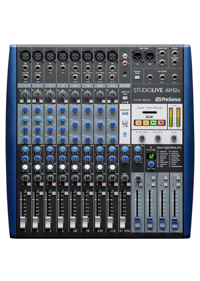 Presonus StudioLive AR12C 1 https://musicheadstore.com/wp-content/uploads/2021/03/Presonus-StudioLive-AR12C-1.jpg