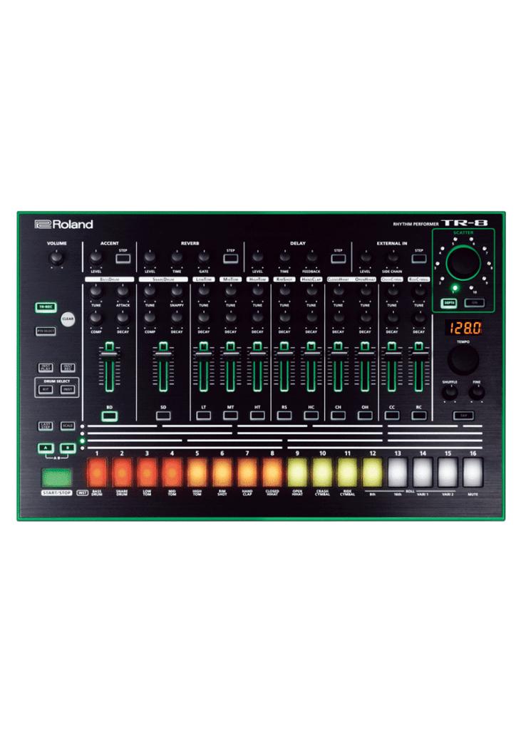 Roland TR8 1 https://musicheadstore.com/wp-content/uploads/2021/03/Roland-TR8-1.png
