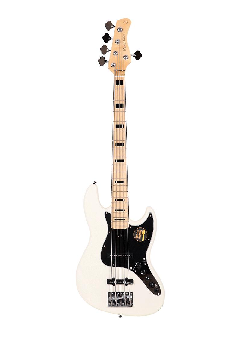 Sire Marcus Miller V7 Vintage Alder 5 String Bass Antique White 2 Gen 1 https://musicheadstore.com/wp-content/uploads/2021/03/Sire-Marcus-Miller-V7-Vintage-Alder-5-String-Bass-Antique-White-2-Gen-1.png