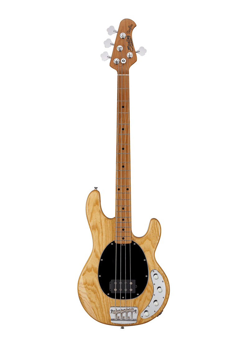 Sterling by Music Man StingRay Roasted Maple Neck Bass Natural 1