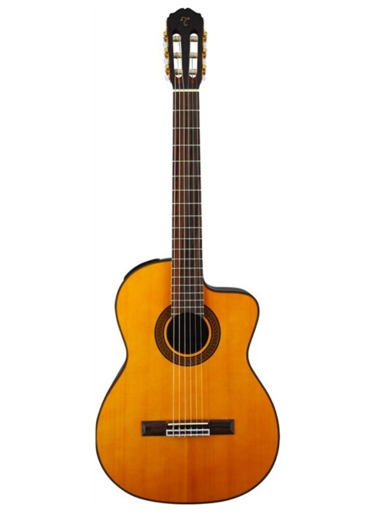 Takamine GC5CE NT Acoustic Electric Classical Guitar 1