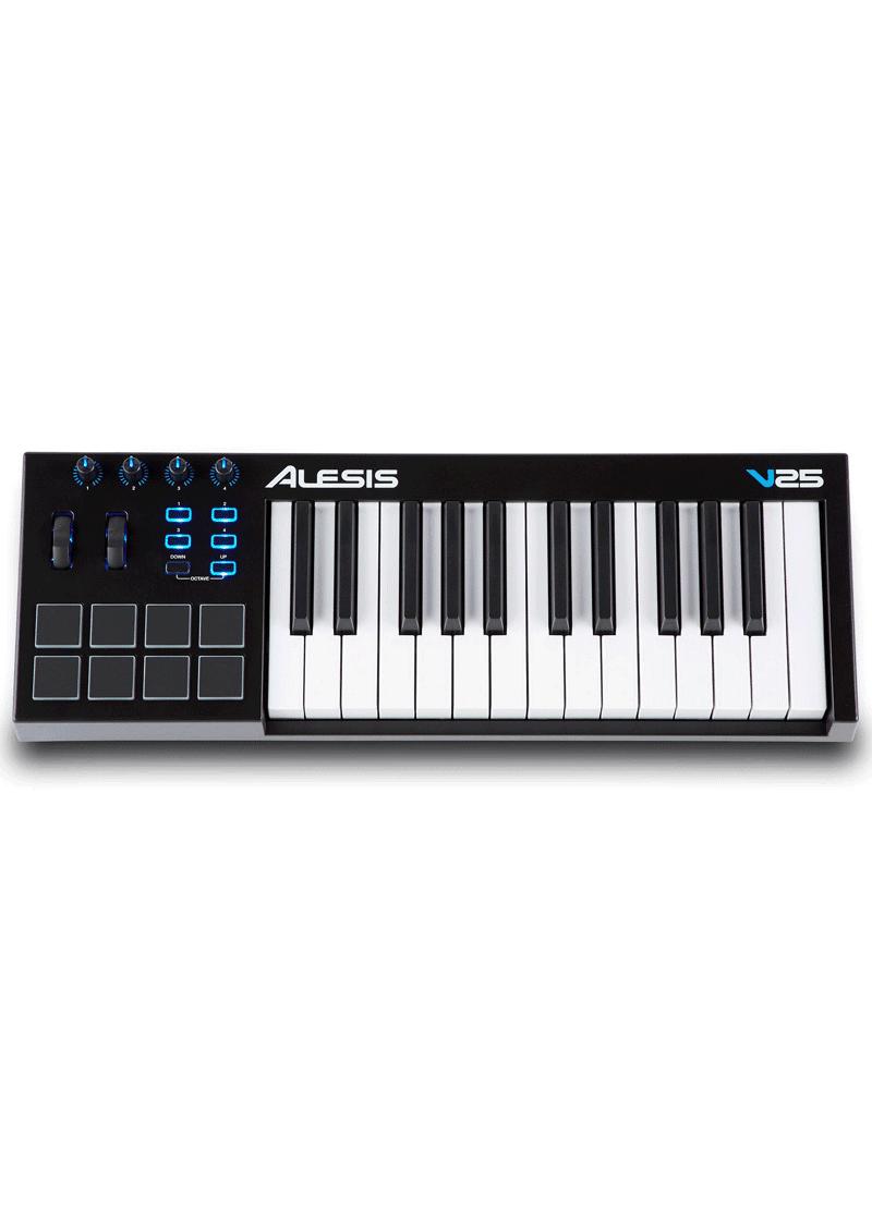 V25 Keyboard Controller 1 https://musicheadstore.com/wp-content/uploads/2021/03/V25-Keyboard-Controller-1.png