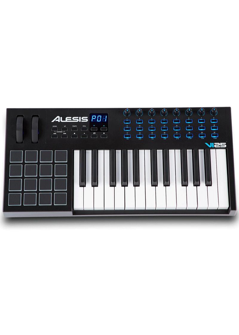 VI25 Keyboard Controller 1 https://musicheadstore.com/wp-content/uploads/2021/03/VI25-Keyboard-Controller-1.png