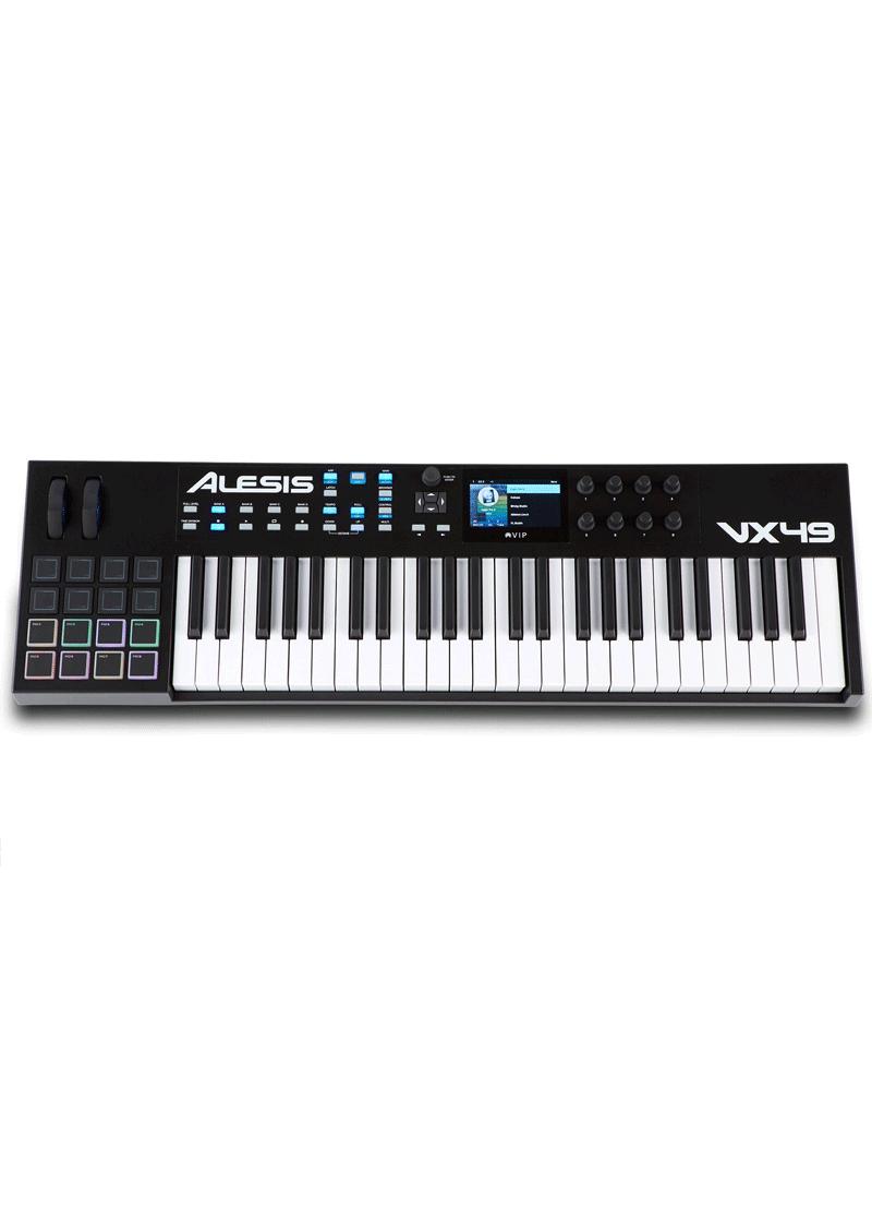 VX49 Keyboard Controller 1 https://musicheadstore.com/wp-content/uploads/2021/03/VX49-Keyboard-Controller-1.png