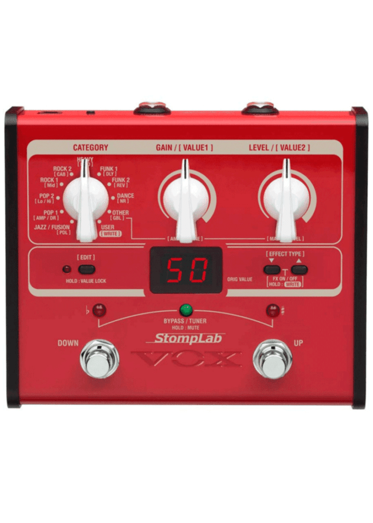 Vox Stomplab 1B SL1B 1 https://musicheadstore.com/wp-content/uploads/2021/03/Vox-Stomplab-1B-SL1B-1.png