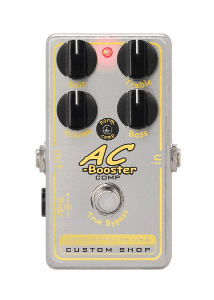XOTIC AC BOOSTER COMP 1 https://musicheadstore.com/wp-content/uploads/2021/03/XOTIC-AC-BOOSTER-COMP-1.png