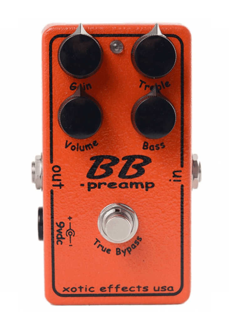Xotic BB preamp Andy Timmons Effects Pedal 1 https://musicheadstore.com/wp-content/uploads/2021/03/Xotic-BB-preamp-Andy-Timmons-Effects-Pedal-1.png