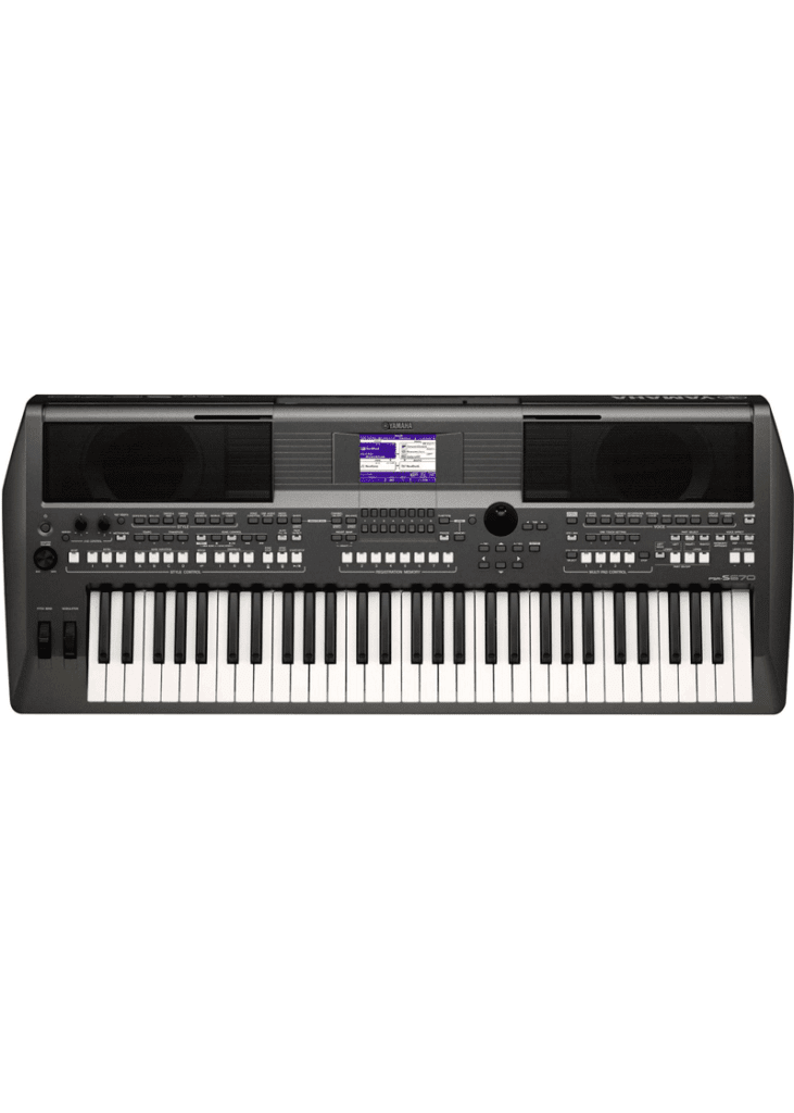 Yamaha PSR S670 61 Key Arranger Workstation 1