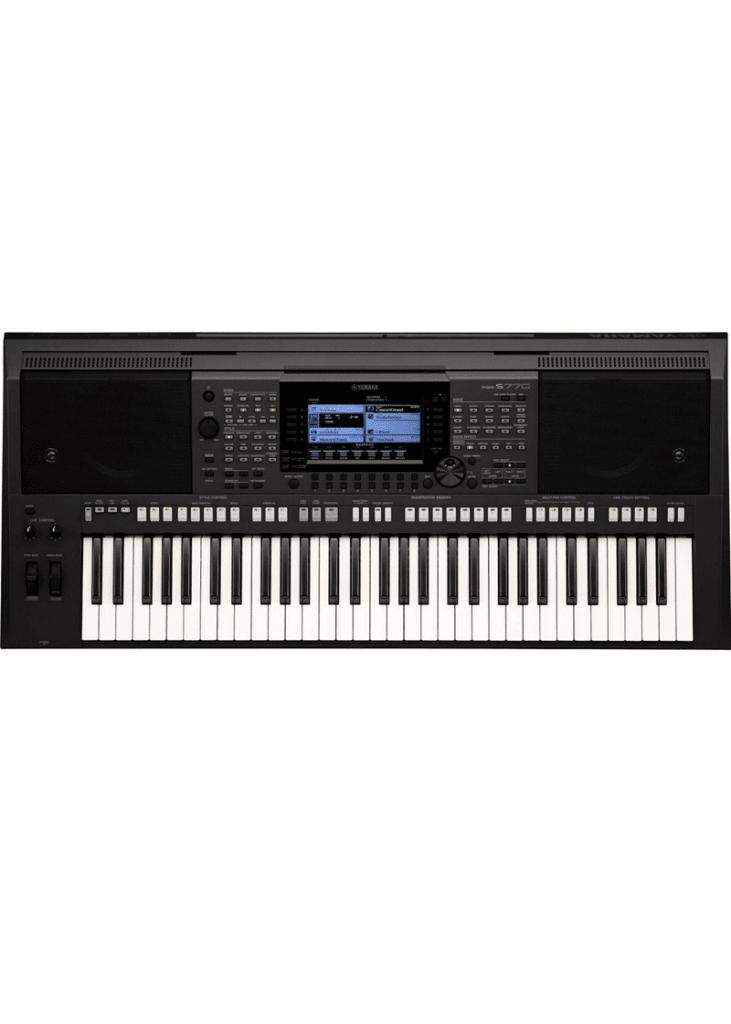 Yamaha PSR S770 61 Key Arranger Workstation 1 https://musicheadstore.com/wp-content/uploads/2021/03/Yamaha-PSR-S770-61-Key-Arranger-Workstation-1.png